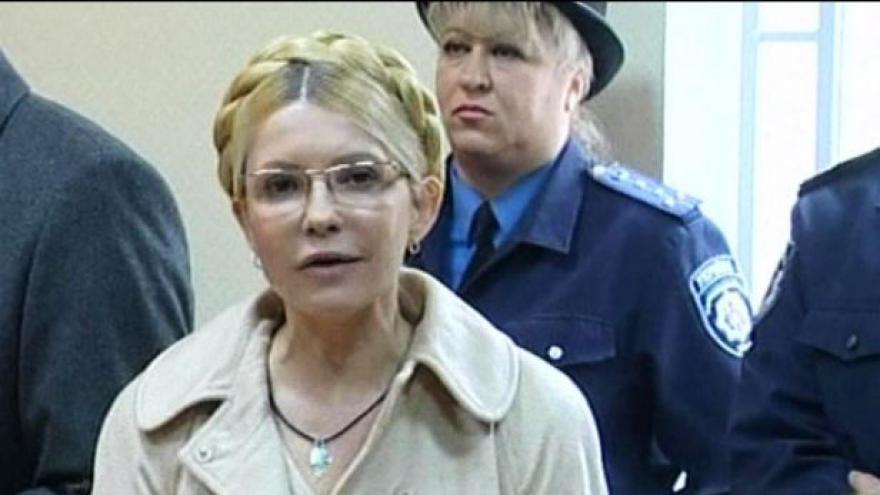 Video Studio ČT24 o procesu s Julijí Tymošenkovou