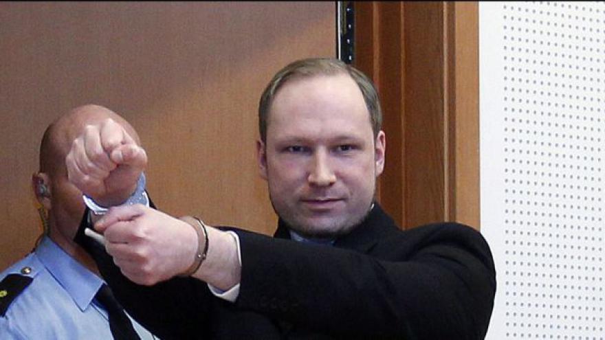 Video Breivik je prý svéprávný