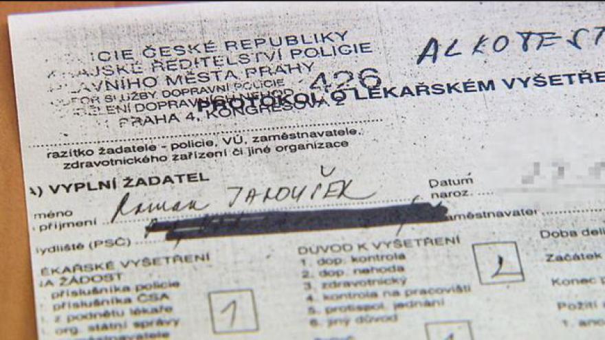 Video Telefonát Janouškova advokáta Víta Širokého