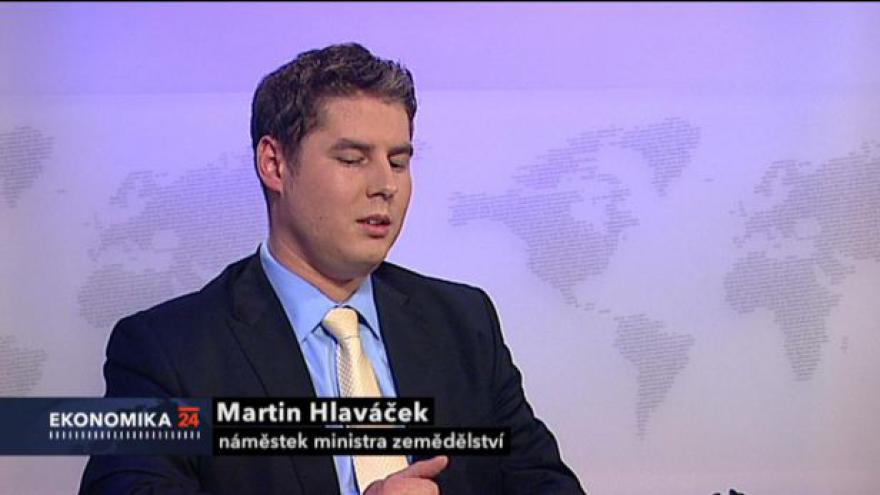 Video Ekonomika ČT24: Rozhovor s Martinem Hlaváčkem