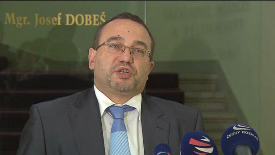 Video Události: Ministr Dobeš končí