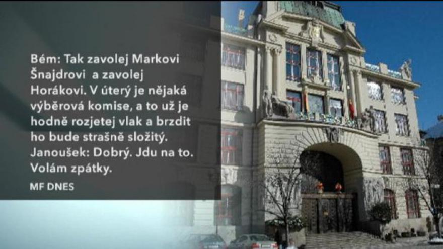 Video Bém s Janouškem domlouvali, kdo povede VZP Praha