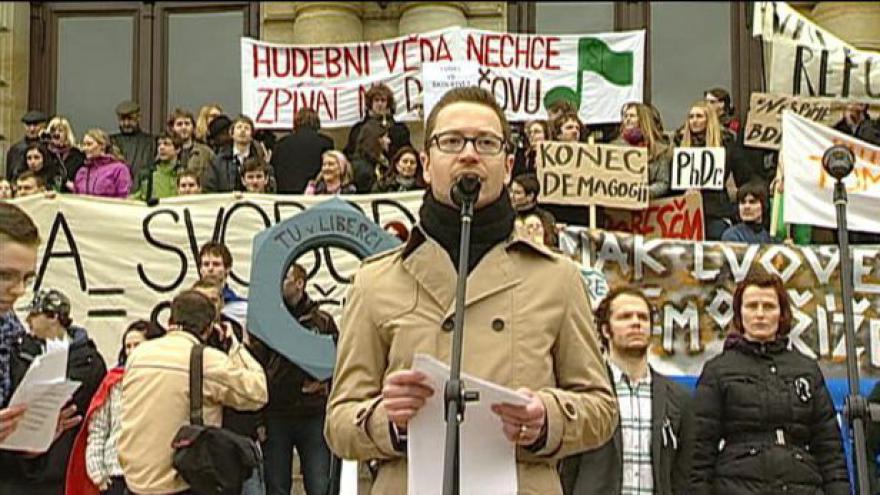 Video Projevy Miroslava Jašurka a Stanislava Štecha