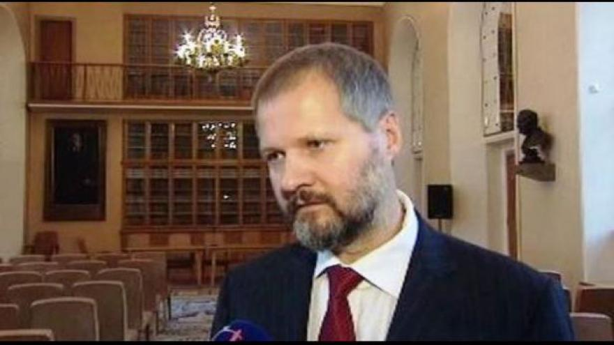 Video Program Týdne neklidu a rektor Václav Hampl v Událostech