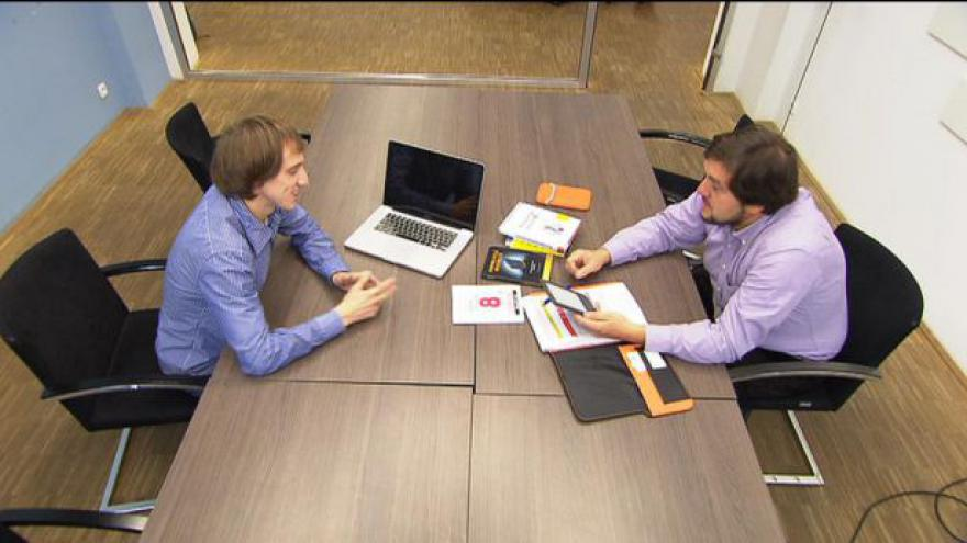 Video Práce snů pro absolventy tématem Ekonomiky ČT24