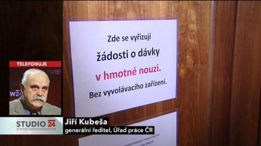 Video Studio ČT24 k jednání sociálního výboru