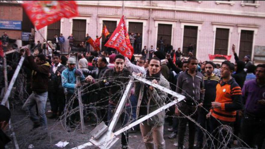 Video Egypt se opět bouří