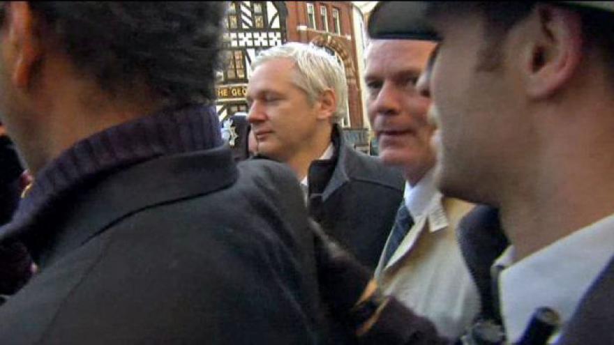 Video Soud projedná odvolání Assange