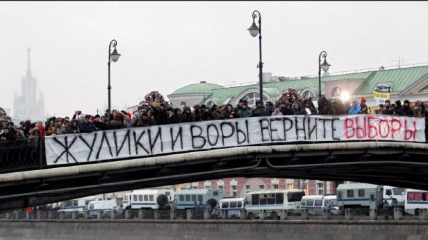 Video V Moskvě se chystá demonstrace