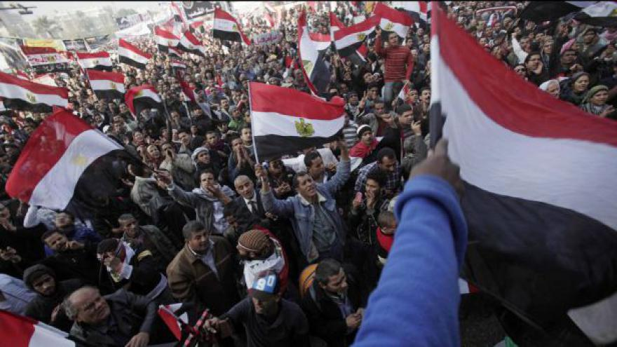 Video Rok od začátku protestů v Egyptě