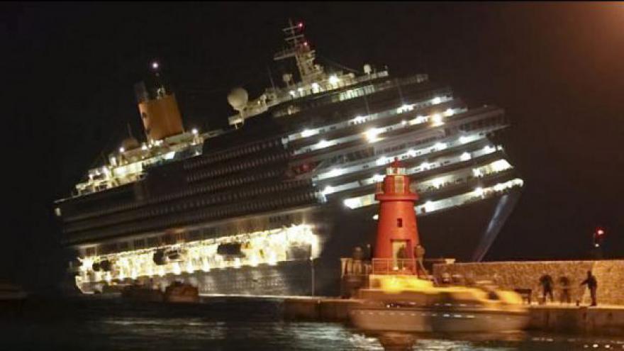 Video Havárie lodi Costa Concordia