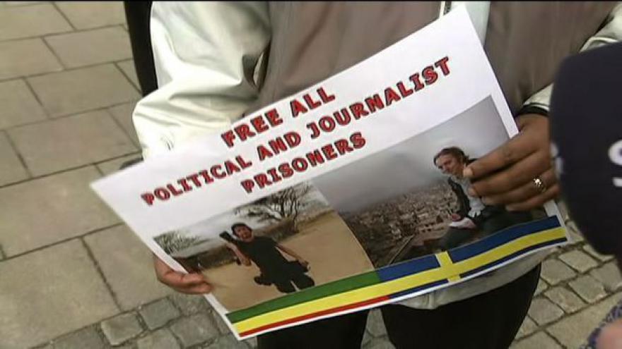Video Švédští novináři byli v Etiopii odsouzeni na 11 let