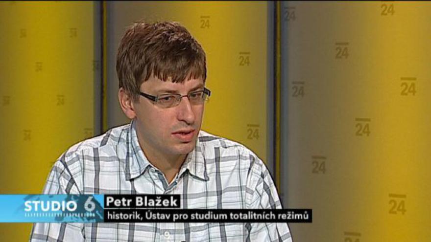 Video Rozhovor s historikem Petrem Blažkem