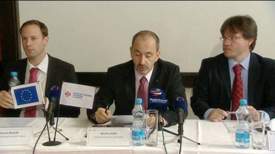 Video Brífink ministerstva průmyslu k OPPI