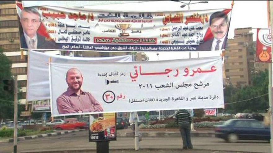 Video Polední události o volbách v Egyptě
