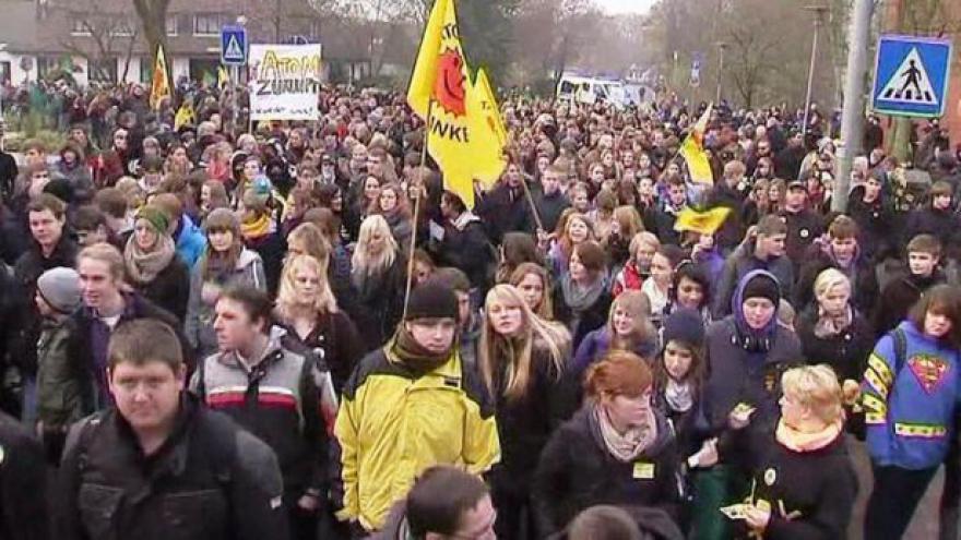 Video V Německu vypukne demonstrace proti jadernému palivu