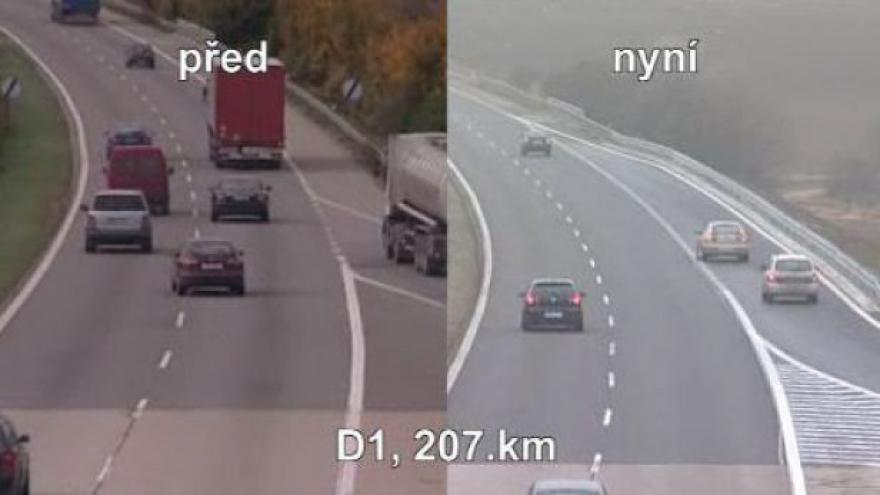 Video Upravené nájezdy před a po opravě