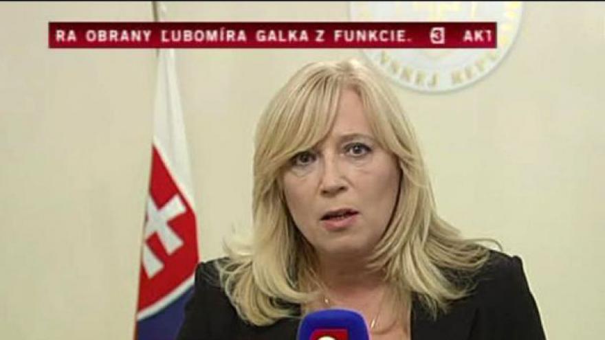 Video Brífink Ivety Radičové a telefonát Jána Baránka