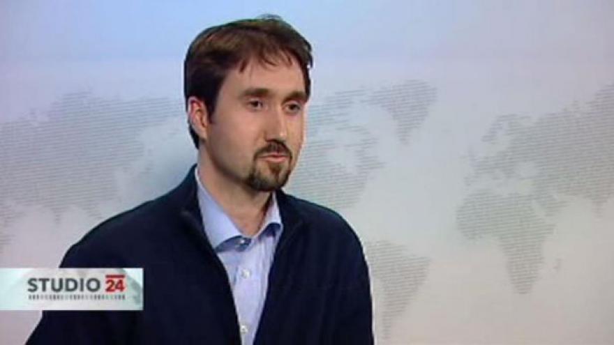 Video Režisér Tomáš Bouška ve Studiu ČT24