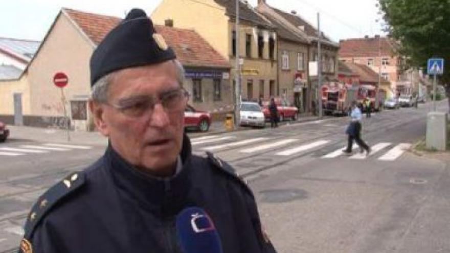 Video Mluvčí jihomoravských hasičů Jaroslav Haid o požáru
