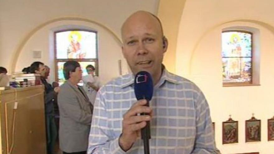 Video Vstup Josefa Kvasničky ze mše ve Starém Hrozenkově