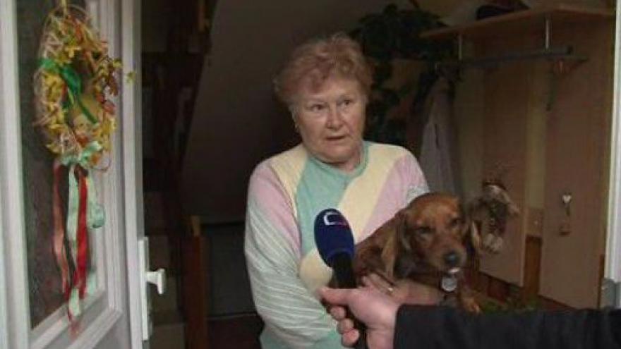 Video Ludmila Brázdová o tom, jak se neznámá zlodějka vloupala do jejího domu
