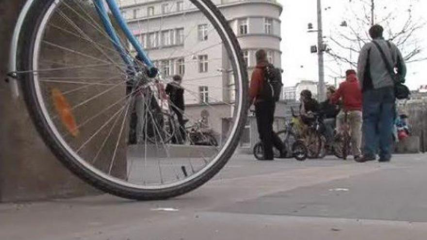 Video Vstup Petra Kotrly z brněnské cyklojízdy
