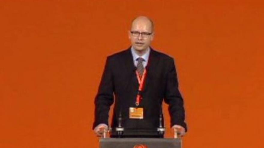 Video Projev Bohuslava Sobotky po zvolení předsedou ČSSD