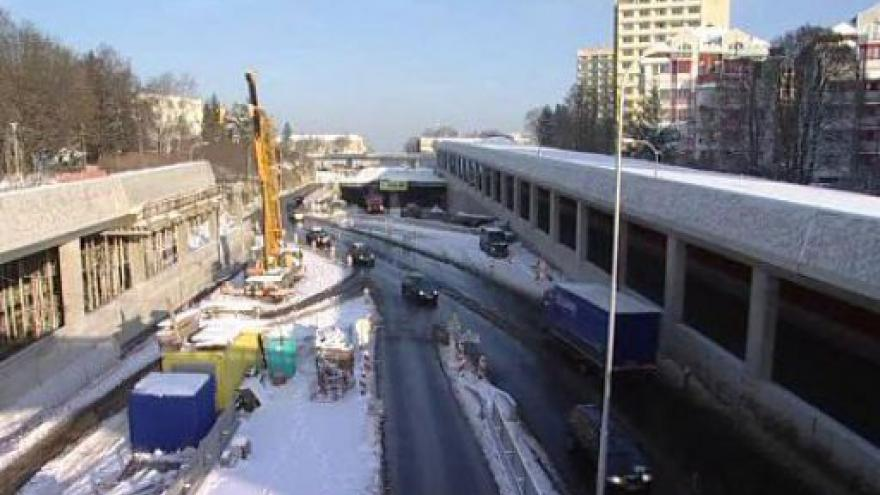 Video NO COMMENT - na Královopolských tunelech se ještě 2. prosince pracovalo