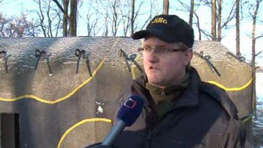 Video Martin Černý z Pevnostního muzea Vranov o opravách bývalých vojenských bunkrů