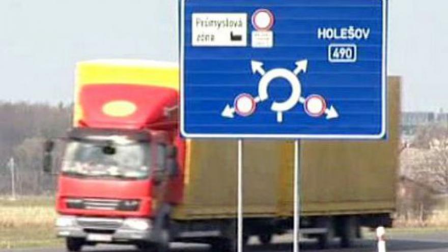 Video Nový dálniční úsek otevřen