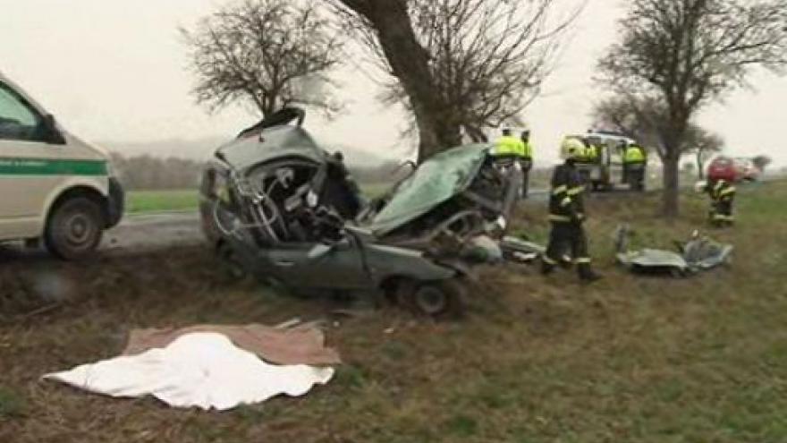 Video Záběry ze smrtelné nehody u Lysic na Blanensku
