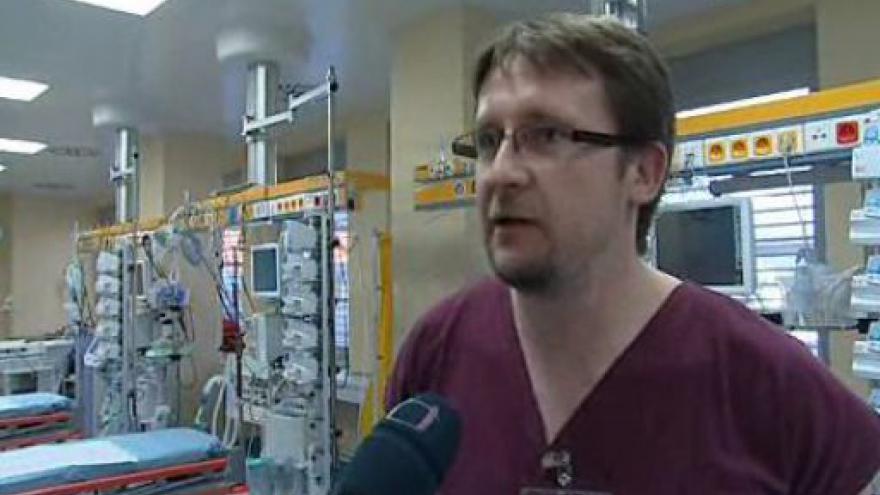 Video Martin Doleček, primář Urgentního příjmu FN Brno