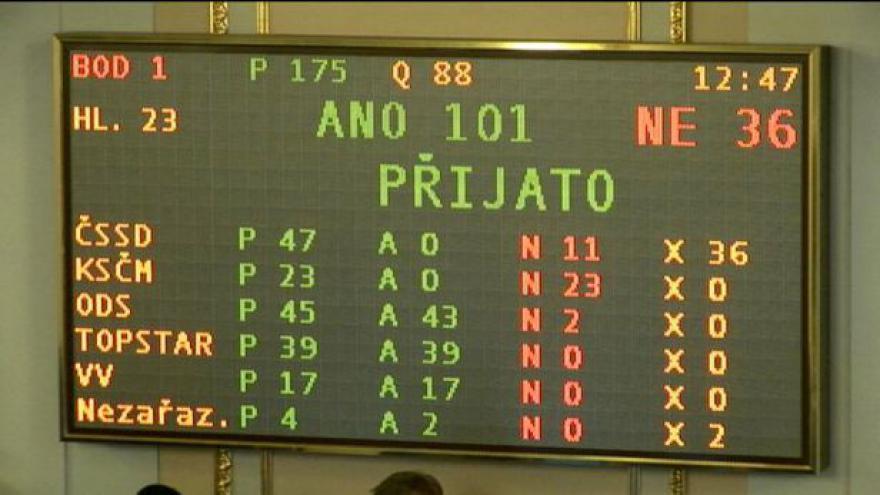 Video Poslanci schválili novelu zákona o veřejných zakázkách