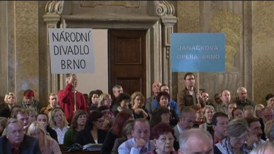 Video Brífink odborových svazů ND Brno
