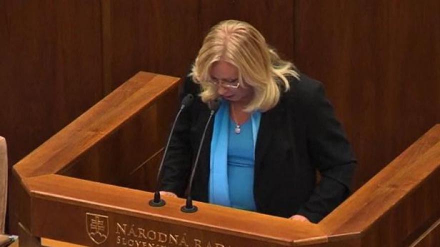 Video Události, komentáře k hlasování na Slovensku