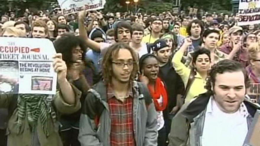 Video Reportáž o protestech v New Yorku