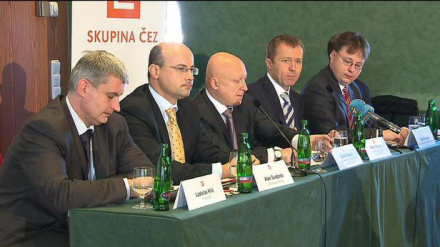 Video Střídání ve vedení Českých energetických závodů