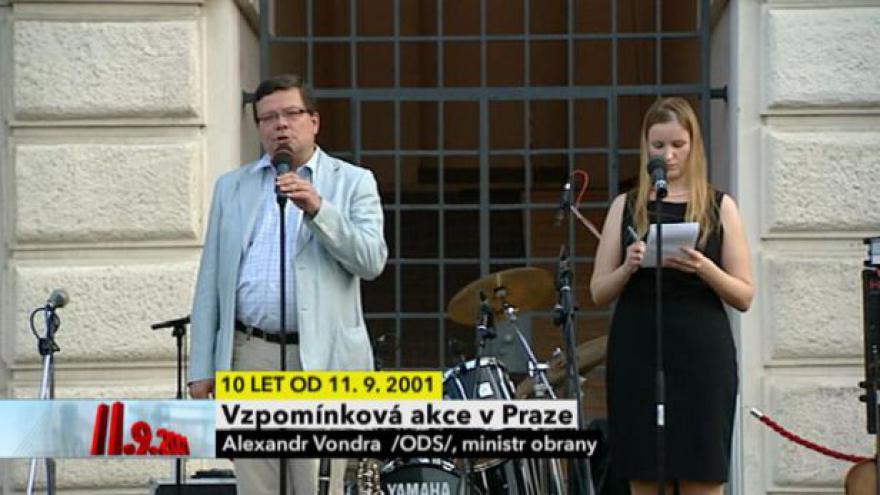 Video Vzpomínková akce v Praze