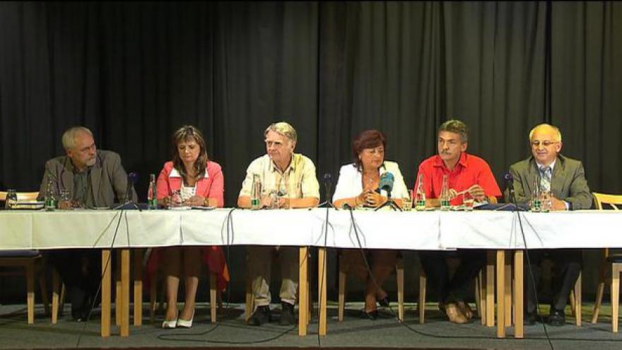 Video Brífink hejtmanky a starostů obcí ze Šluknovska