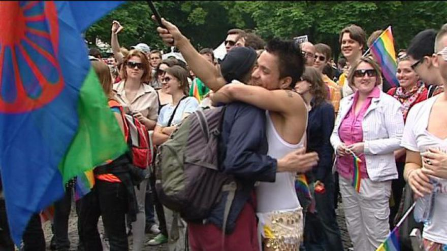 Video Začíná festival Prague Pride 2011
