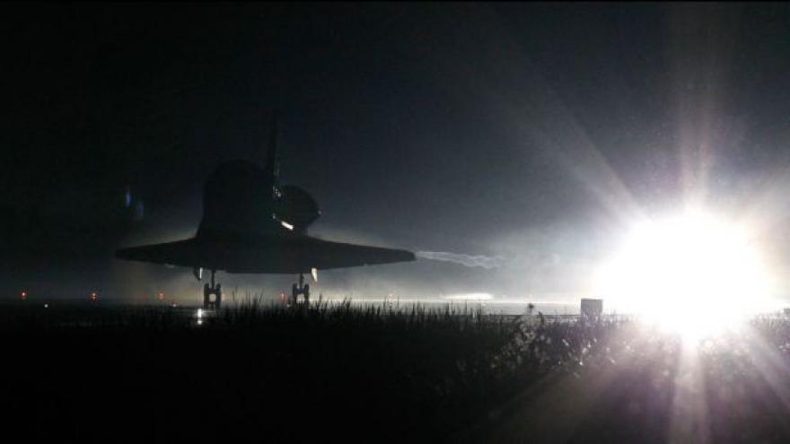 Video Atlantis se vrátil z poslední cesty