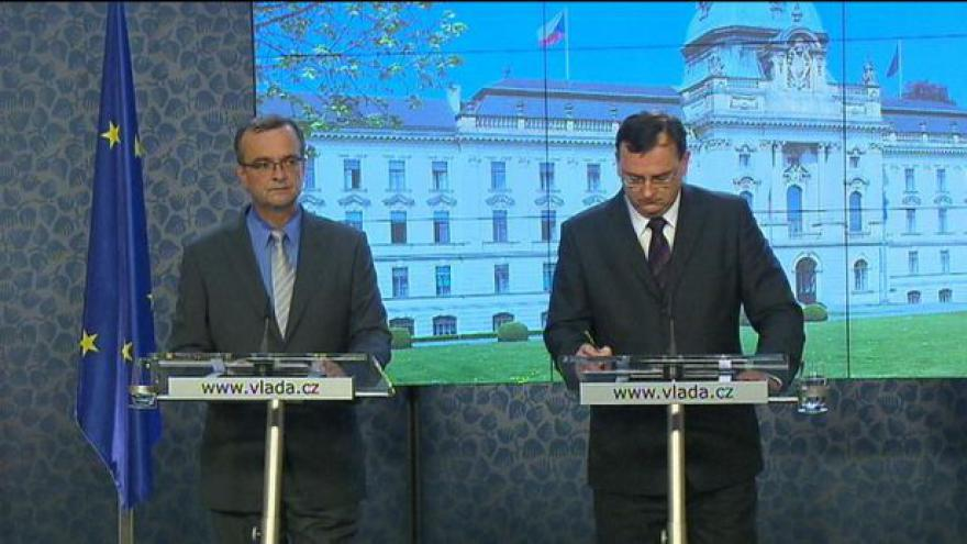 Video TK po jednání vlády o rozpočtu