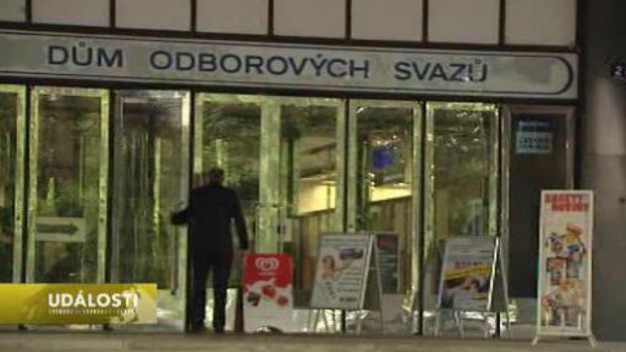 Video Odboráři chystají pochod Prahou