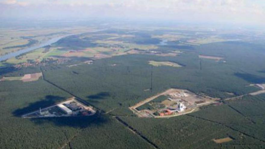 Video Sklad jaderného paliva v Gorlebenu