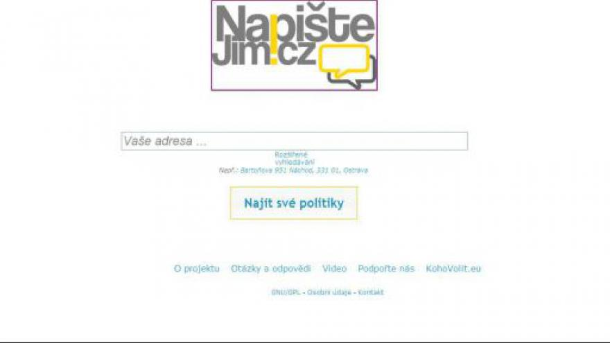 Video Videoklip a tisková konference ke stránkám NapisteJim.cz