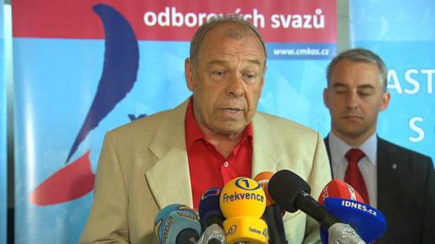 Video Tisková konference ČMKOS
