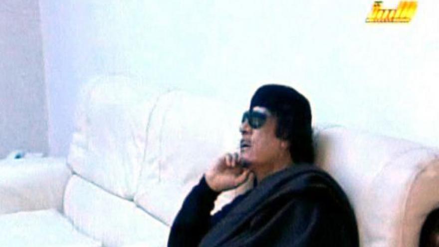 Video NATO zaútočilo na Kaddáfího lodě