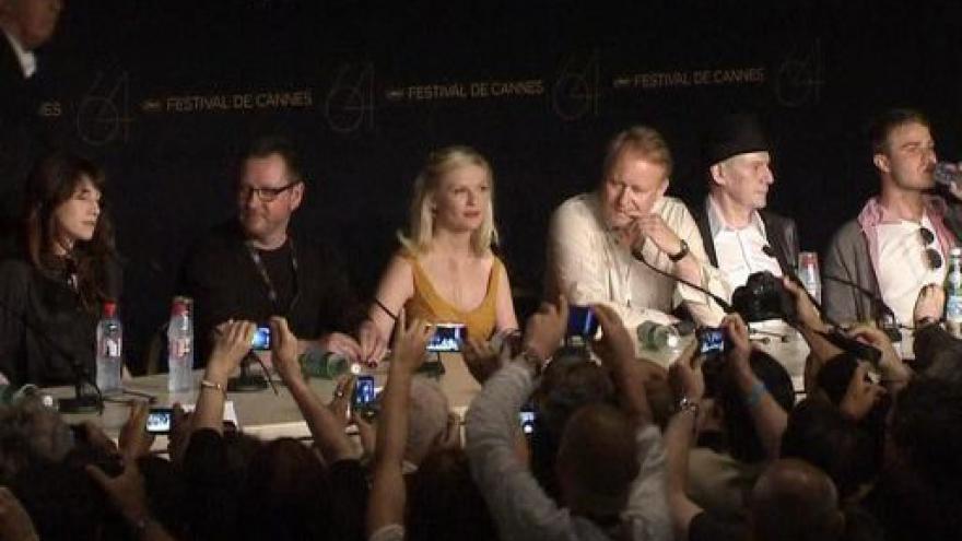 Video Telefonát Jana Šmída z Cannes