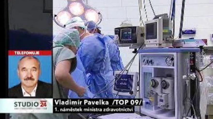 Video Studio ČT24 k reformě zdravotnictví